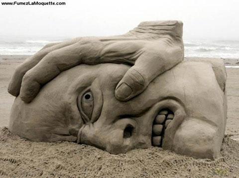 Hacias castillos de arena, Entra..