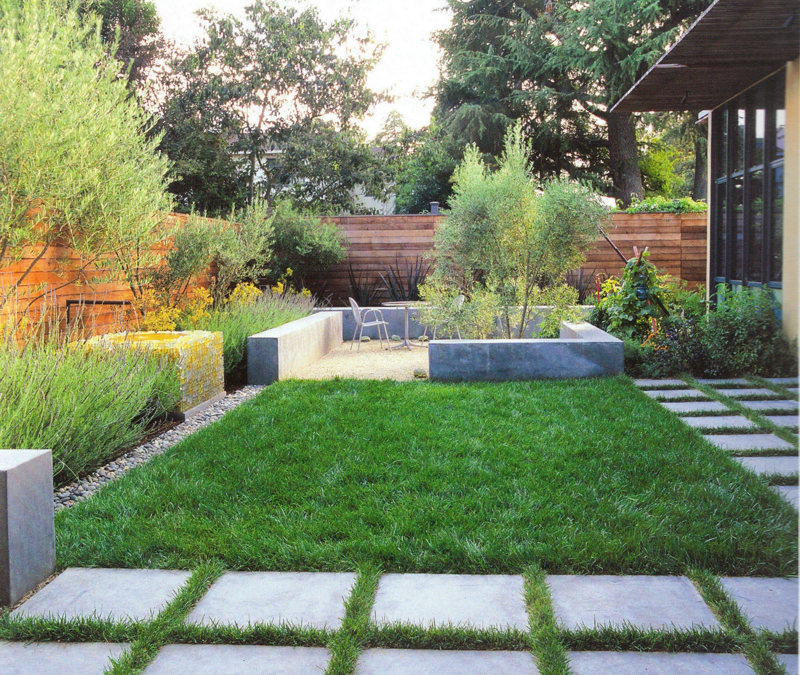 Идея маленького сада фото