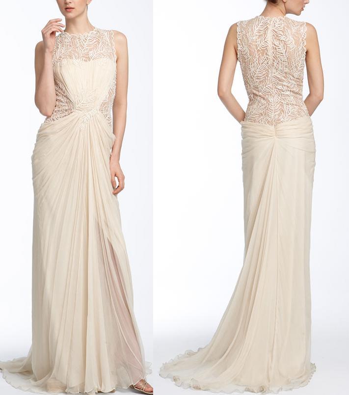 Asian antiques tadashi shoji wedding for Tadashi shoji wedding dresses