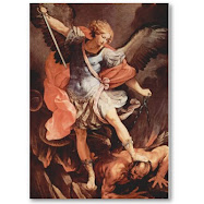 St. Michael the Archangel, Defend us in battle...