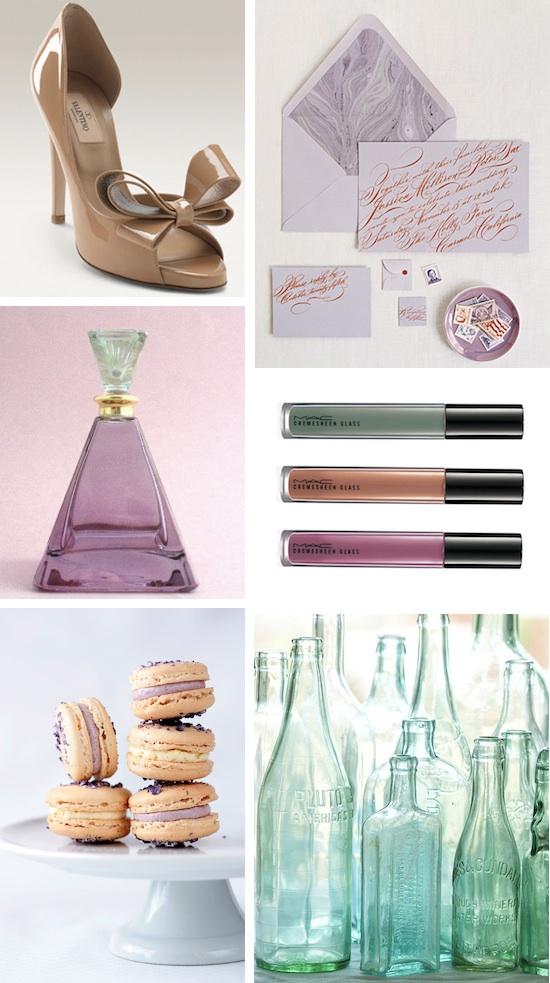... Pumps on In Their Closet, Lavender Wedding Suite via Martha Stewart ...