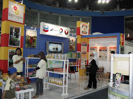 Booth Stand Total Indonesia Chevron VICO Pertamina EP BP MIgas