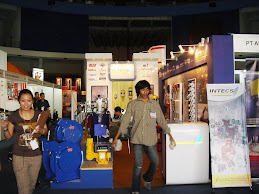 Booth Stand PT Intecs Teknikatama Industri