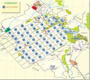 Map Of Chandigarh