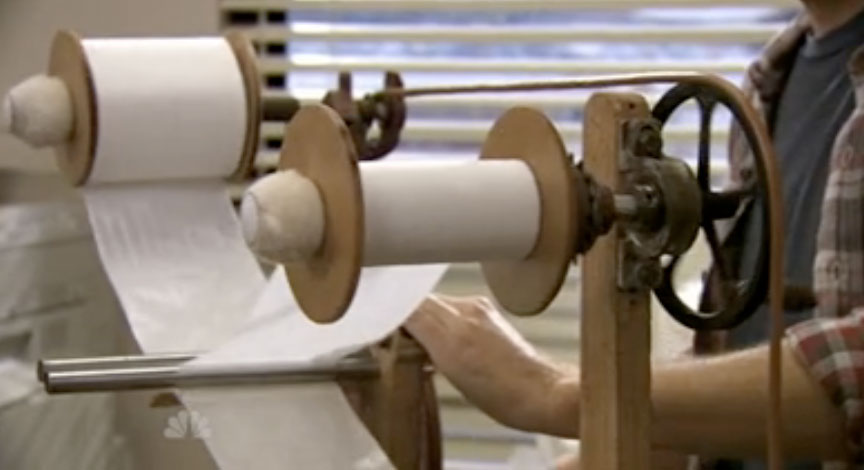 John Deck\'s Blog: Machine to create single-ply toilet paper