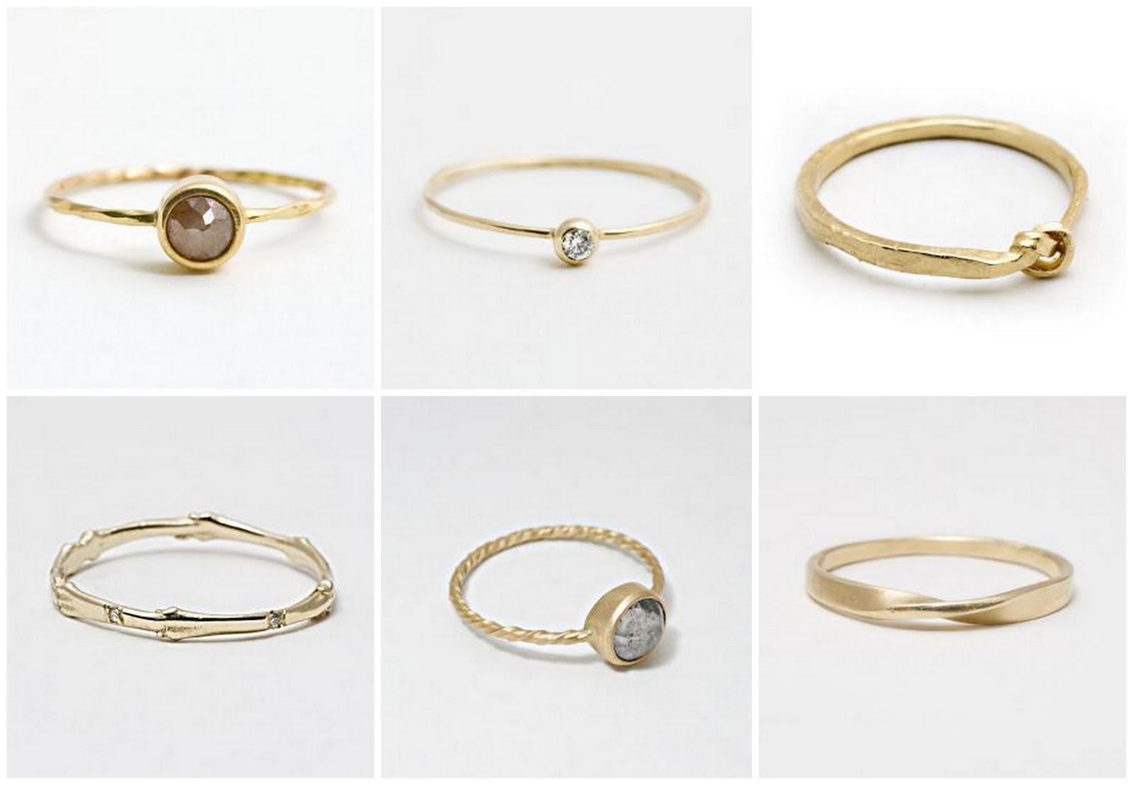 Simple & Elegant Wedding Rings
