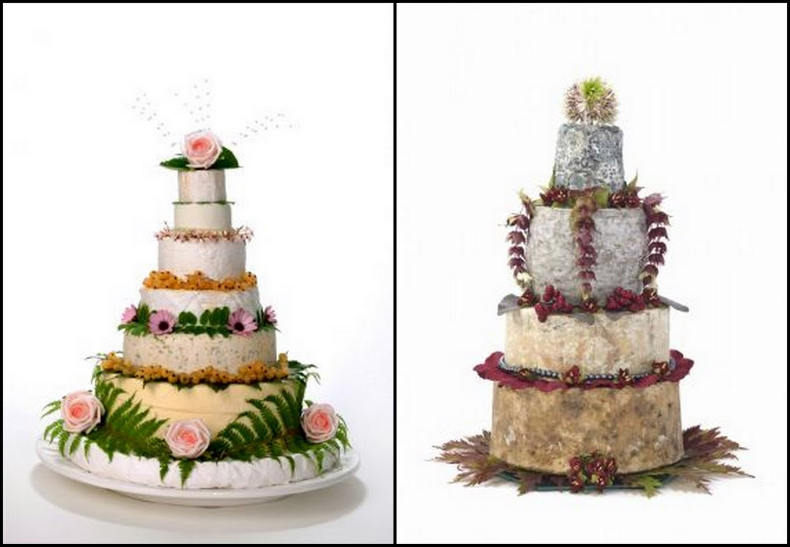 Say Cheese with a Wedding Cake