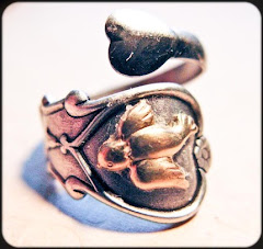 Help Haiti Donation Vintage Swallow Love Ring