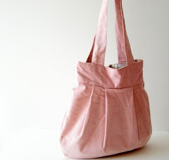 ANGELIQUE - Fully Reversible Modern Everyday Canvas Tote Handbag