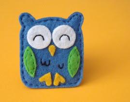 Nick Owl Magnet