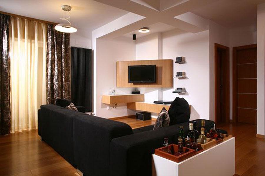 Appartement de design de 39 int rieur house interior design for Flat appartement design