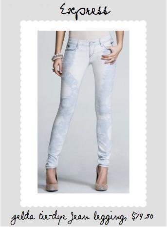 zelda jean legging