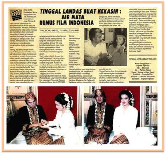 Cinta pada Pandang Pertama Ikang Fawzi pada Marissa Haque