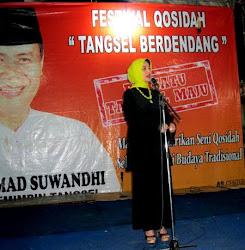 Marissa Haque Fawzi Sosialisasi di Tangsel, Pondok Aren, Radio Ritz, Banten.jpg