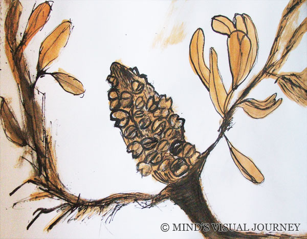 Painting: Banksia
