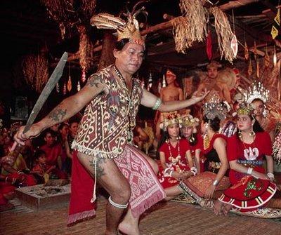 Malaysia Iban People