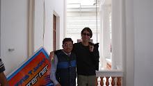 Paúl Puma y Benjamín Prado