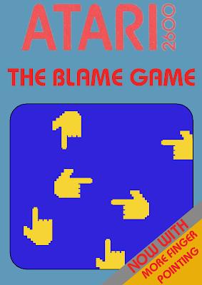 Blame Game Atari 2600