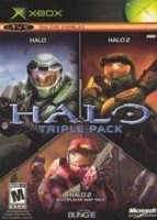 Halo Triple Pack Xbox Cover Art