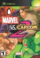 Marvel vs Capcom 2 Xbox Cover Art