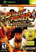 Street Fighter Anniversary Xbox Cover Art
