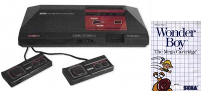Sega Master System and Game