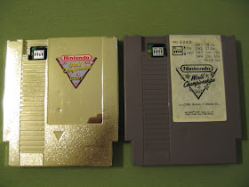 Nintendo World Championships Gold and Gray Together