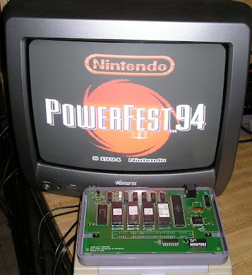 1994 Nintendo Powerfest Cartridge