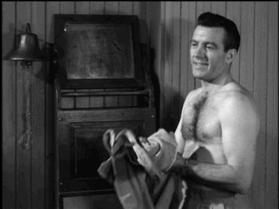 Hugh Beaumont shirtless