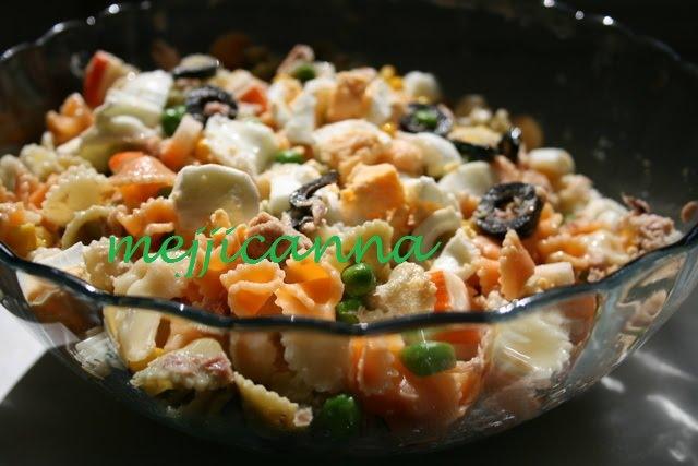 Mejjicanna ensalada fria margaritas - Cocinar atun congelado ...