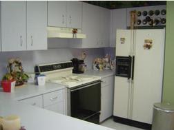 Cocina de Townhouse en Miami