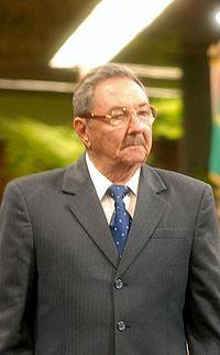 Presidente de Cuba Raul Castro