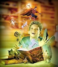 Practica la imaginación, leer te lleva a otros mundos.
