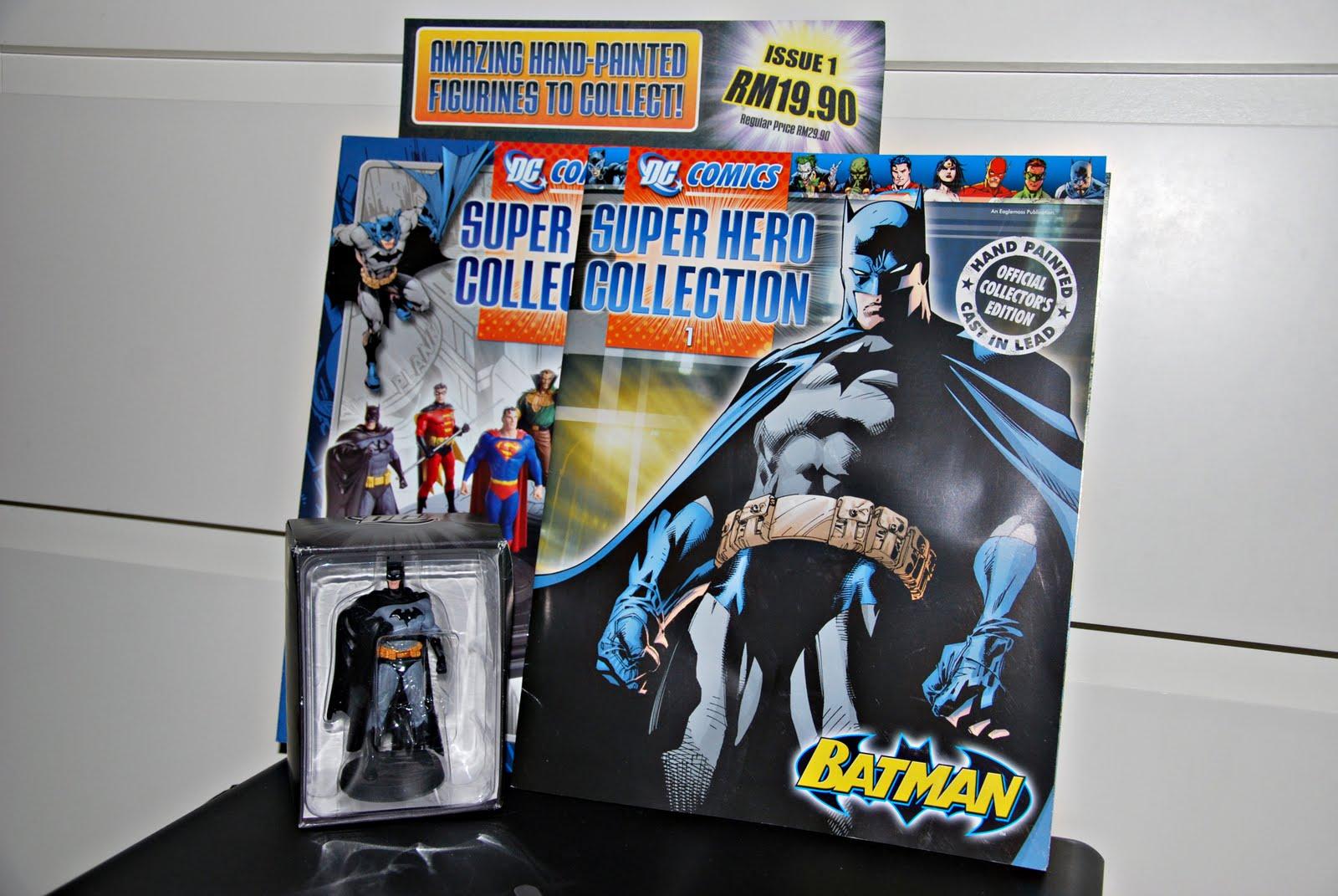 Eaglemoss' Superhero Collection #1: Batman!!! ~ The Rebel Page