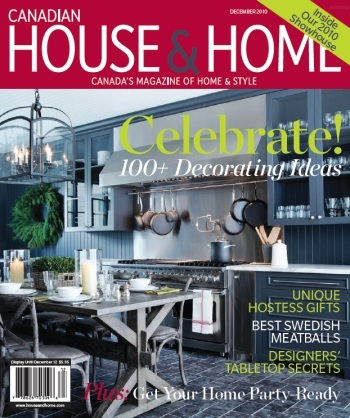 If You Are Wondering How This New Dark Colour Translates In Kitchens Take A  Look At The December Cover Of Canadian House U0026 Home.