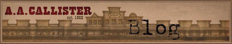 AA Callister Blog