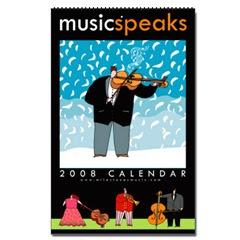 2008 Music Calendar