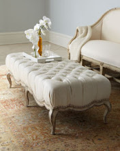An Upholstered French Bench!
