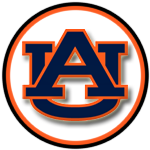The Auburn Tigers are