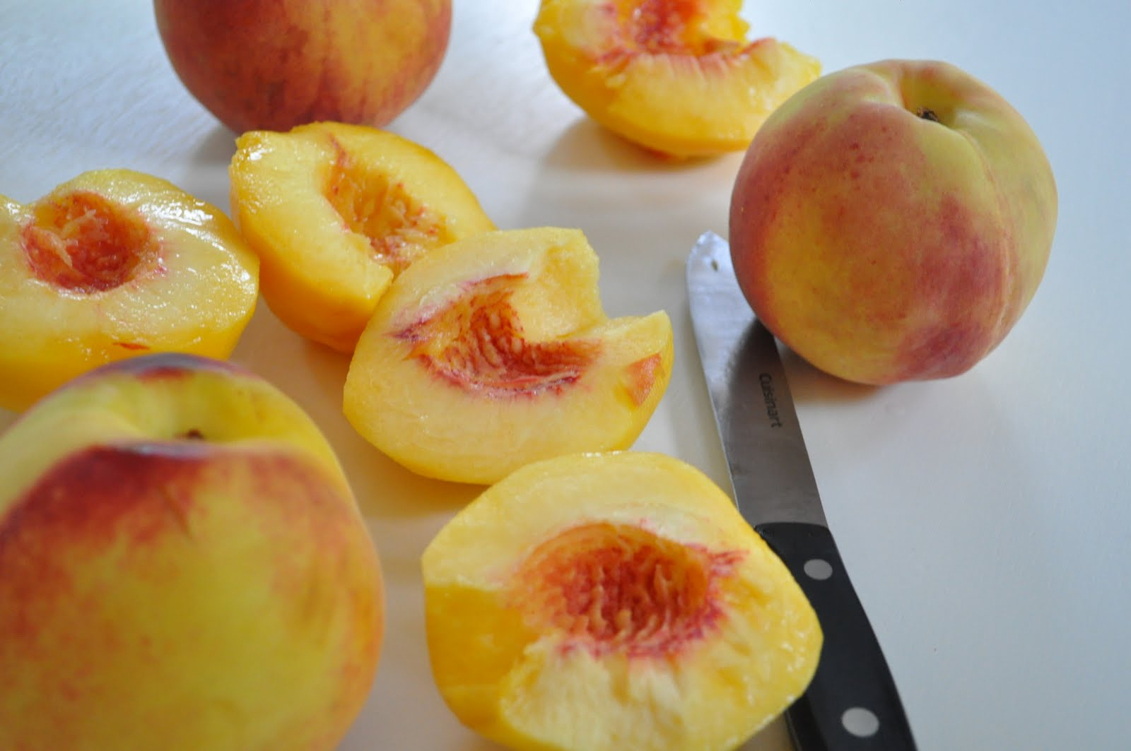 Kneading My Dream: Peach Tart with Mascarpone Cream