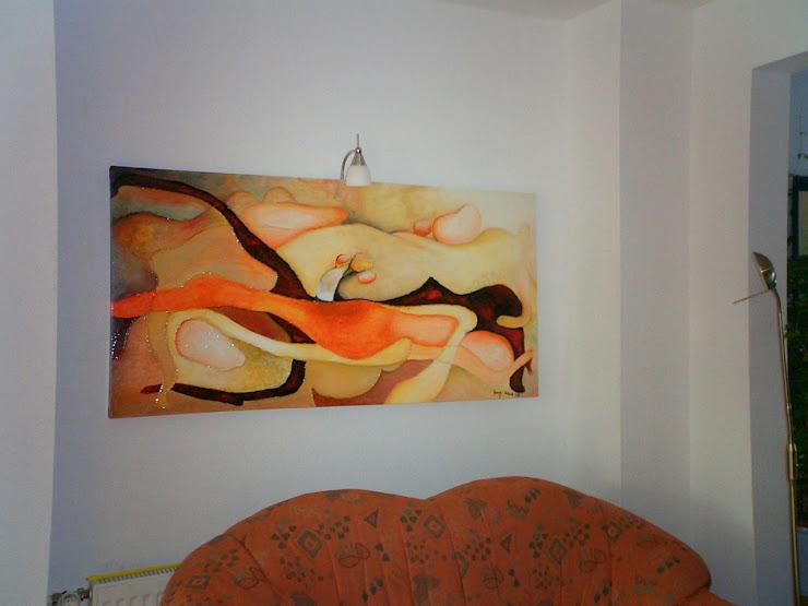 Kompozycja 2    wym. 147 x 70 cm