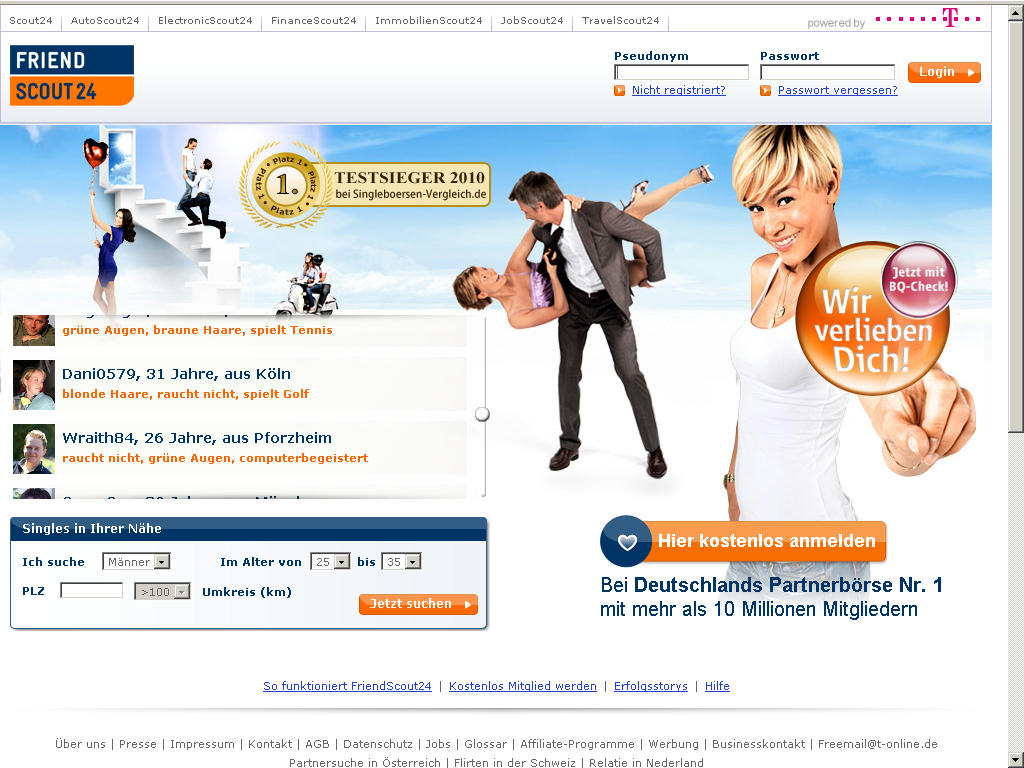 friendscout24 test dating test vergleich