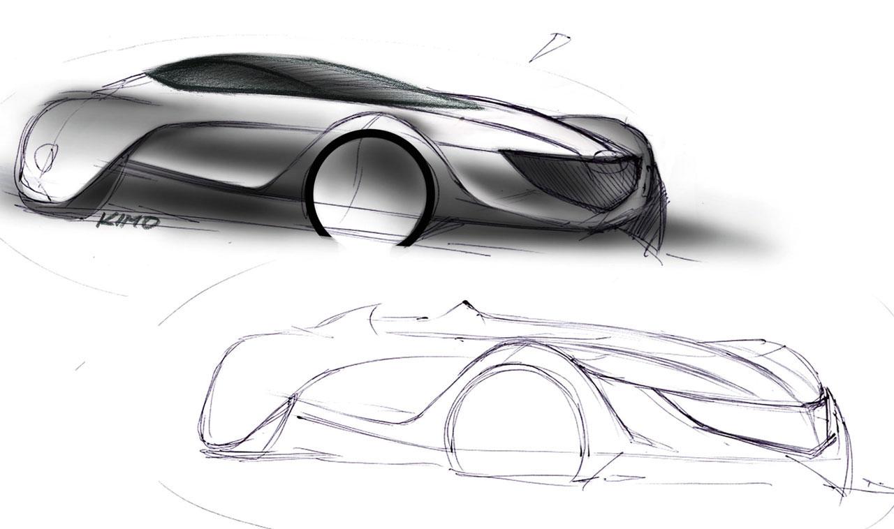 Basic design of a car - Industrial Design