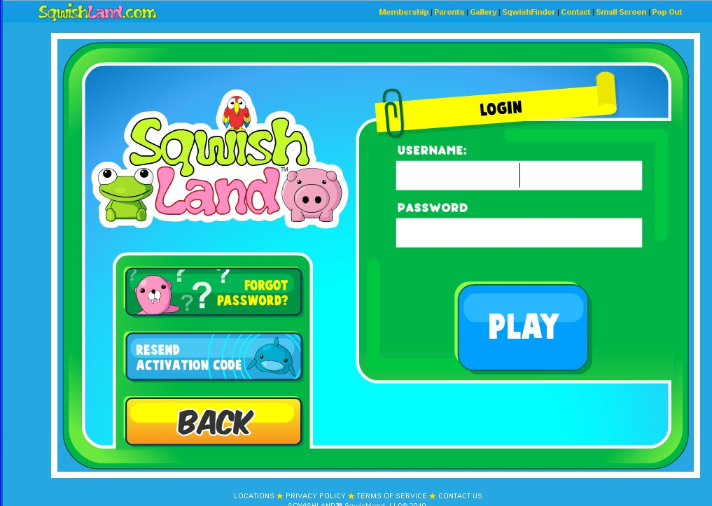 Sqwishlanders : Sqwishlanders: Sqwishland s New and Improved Layout