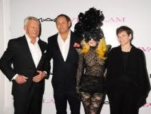 M.A.C. CEO N LADY GAGA IN MAF