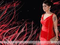 Preity Zinta With Tatoo