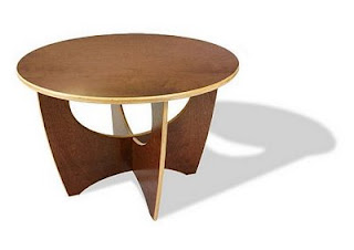 InModern Rekindle Occasional Table - Cocoa Finish