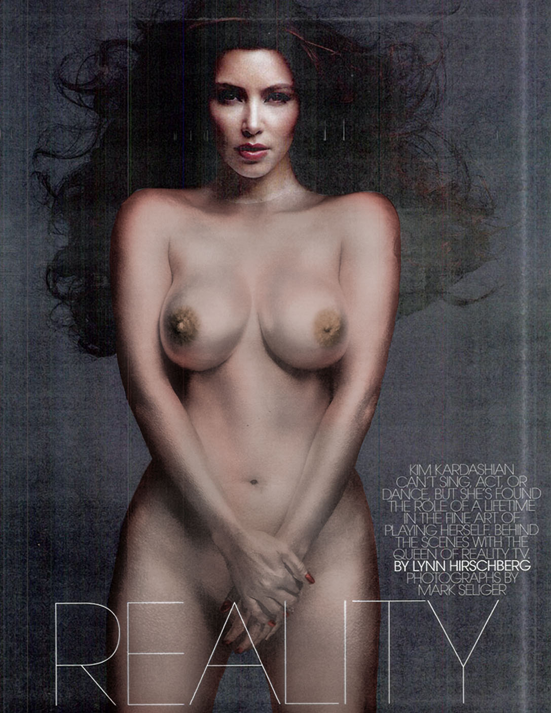 Kim Kardashian Naked In W Magazine November Nsfw Hq
