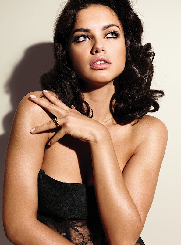 Adriana Lima  Victorias Secret Lingerie Photoshoot MQ glamour images