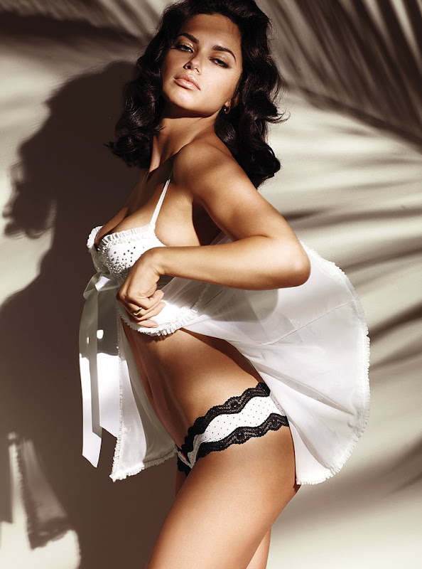 Adriana Lima  Victorias Secret Lingerie Photoshoot MQ hot images